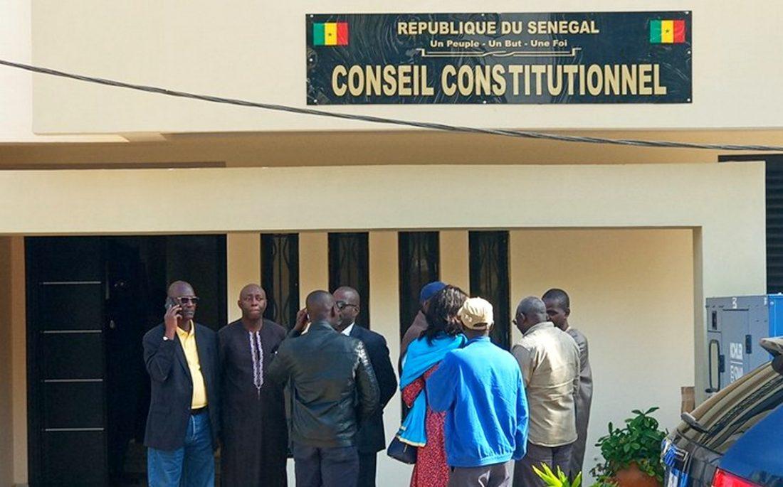 Conseil constitutionnel : la liste provisoire des candidats à la présidentielle pas encore publiée