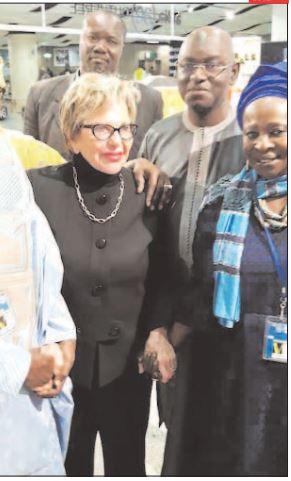 DERNIÈRE MINUTE- Mme Viviane Wade débarque à Dakar