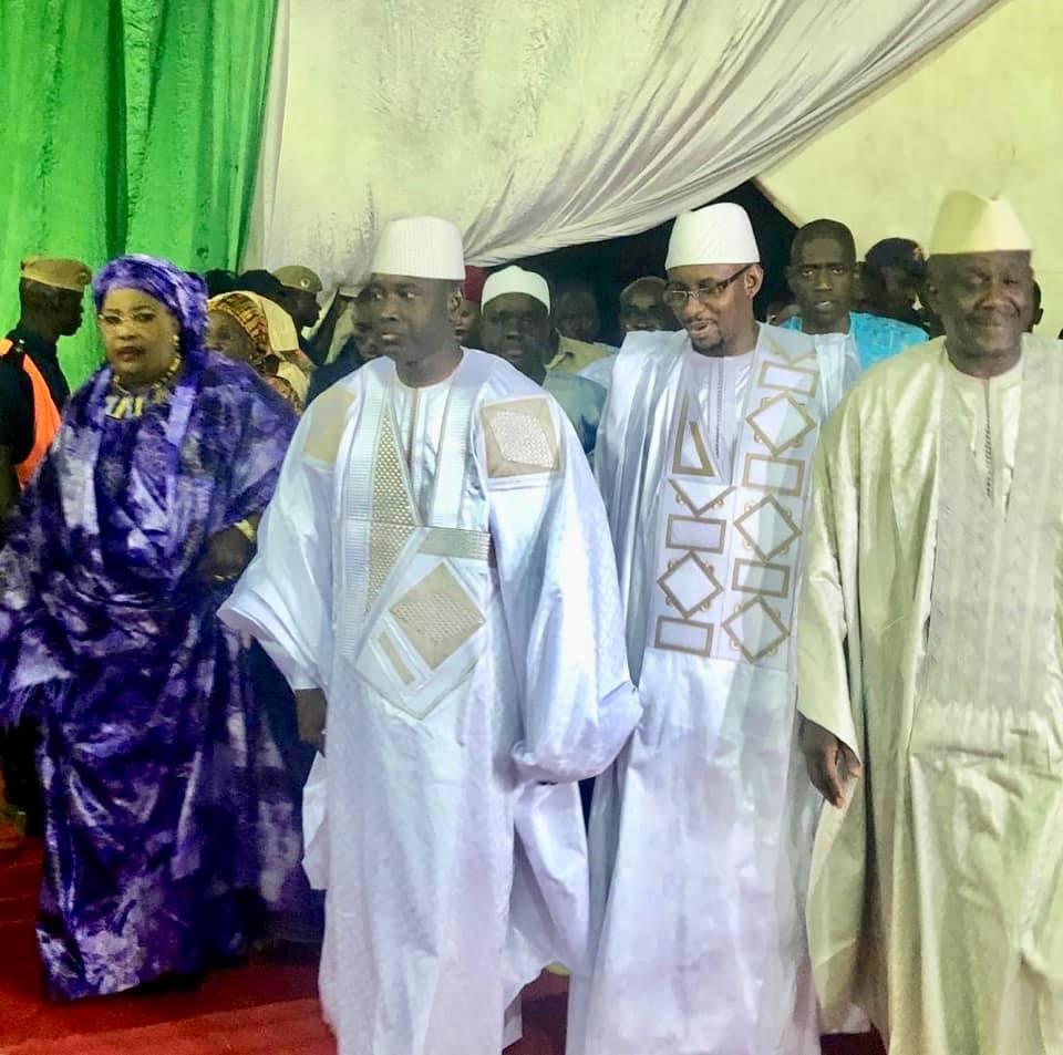 LOUGA / Aly Ngouille Ndiaye demande aux autorités religieuses de prier pour la paix au Sénégal.