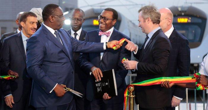 Cérémonie de réception du Train Express Régional : discours du Président de la Banque africaine de développement