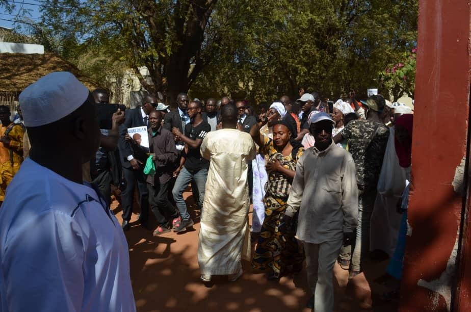 Tournée nationale : Me Madické Niang chaleureusement accueilli à Kolda