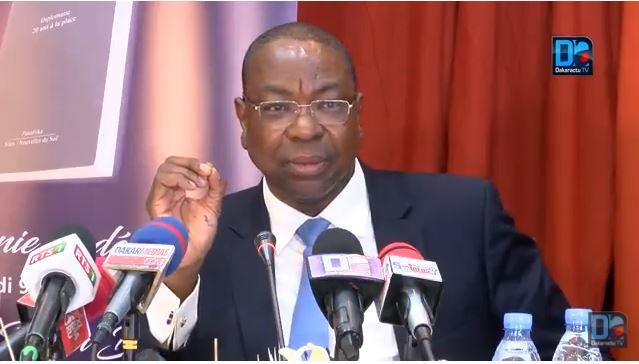 Mankeur Ndiaye prône le '''renforcement des capacités de nos pays en expertise technique juridique et financière''