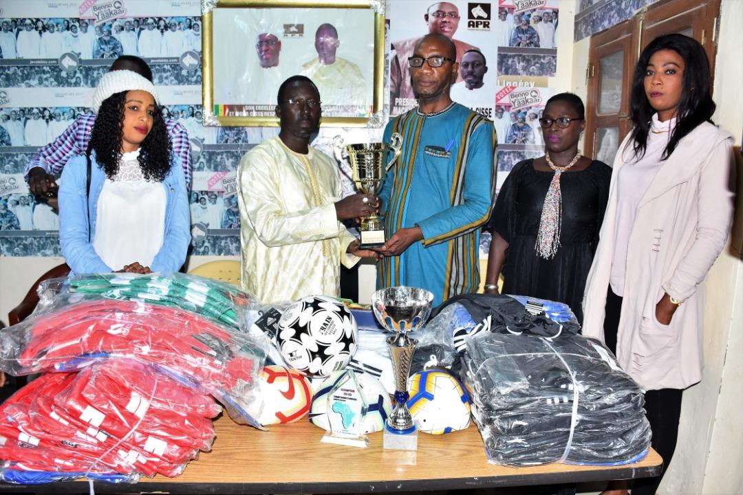 Mora Cissé honore la jeunesse de Grand-Yoff