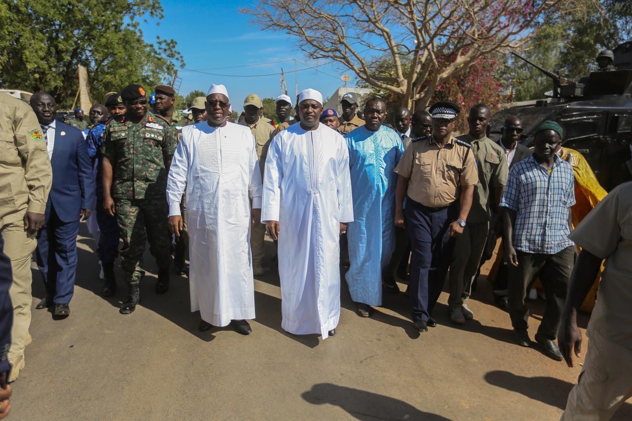Inauguration du pont de Farafégné : Macky Sall et Adama Barrow pour la consolidation de la « fraternité » entre les deux peuples