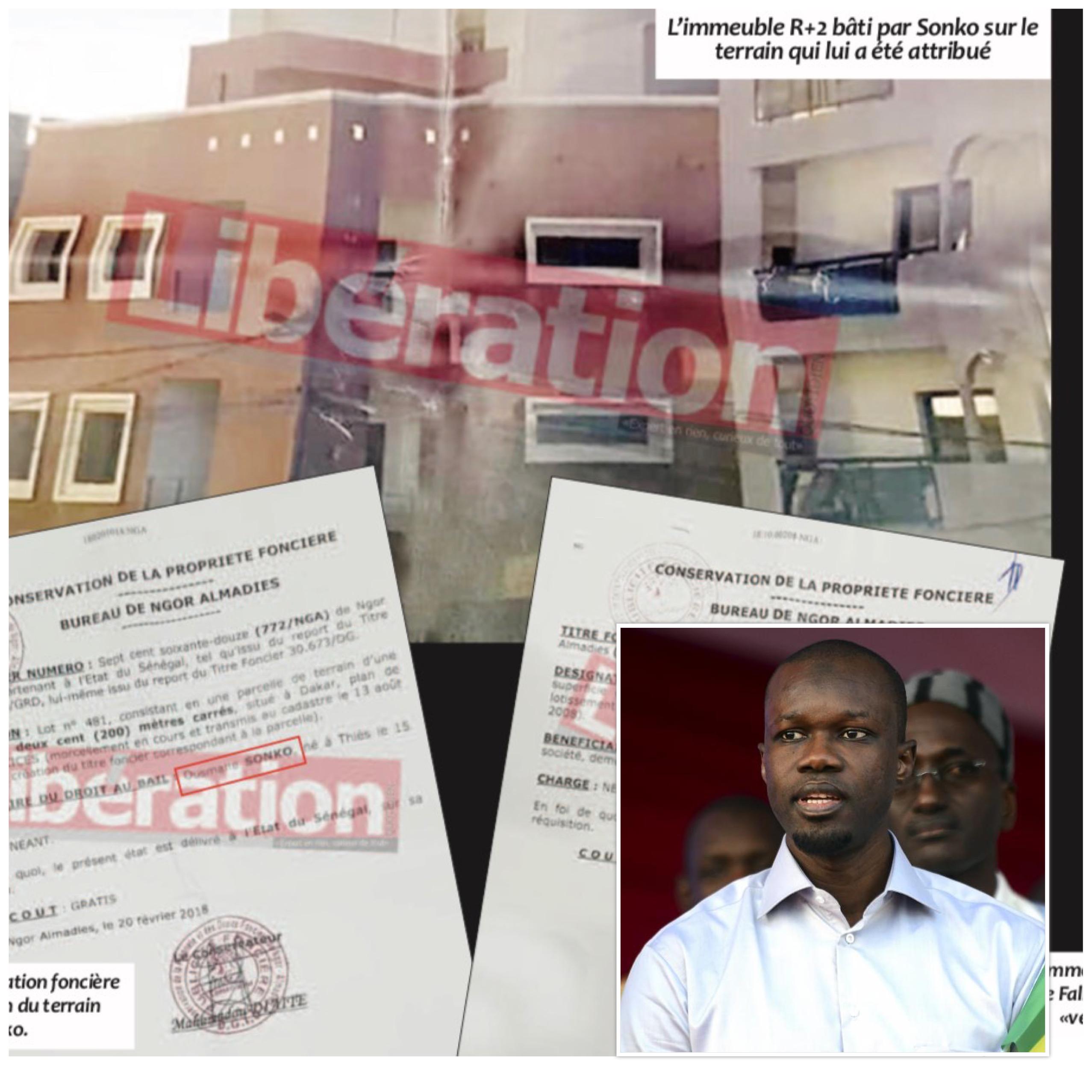 TRANSACTION AVEC LA FILLE D'UN TÉMOIN DE... L'AFFAIRE TAHIBOU NDIAYE : Les petites combines immobilières d'Ousmane Sonko
