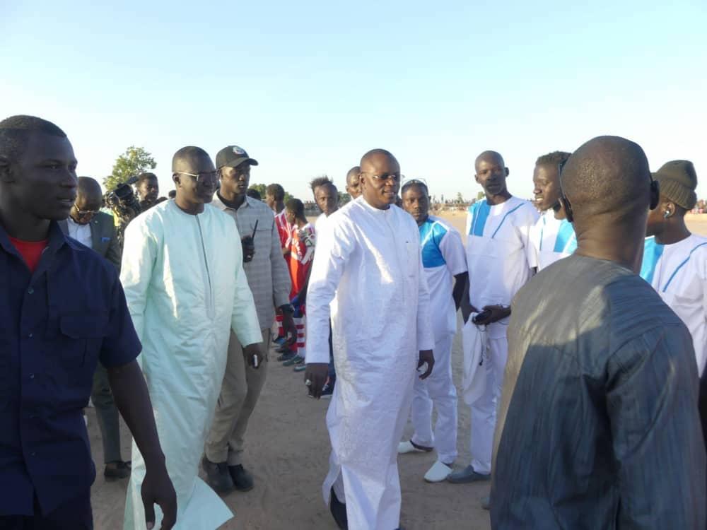 Ndoffane : Cheikh Ndiaye et son mouvement consultent gratuitement la population et parrainent le tournoi inter zonale du Laghem.