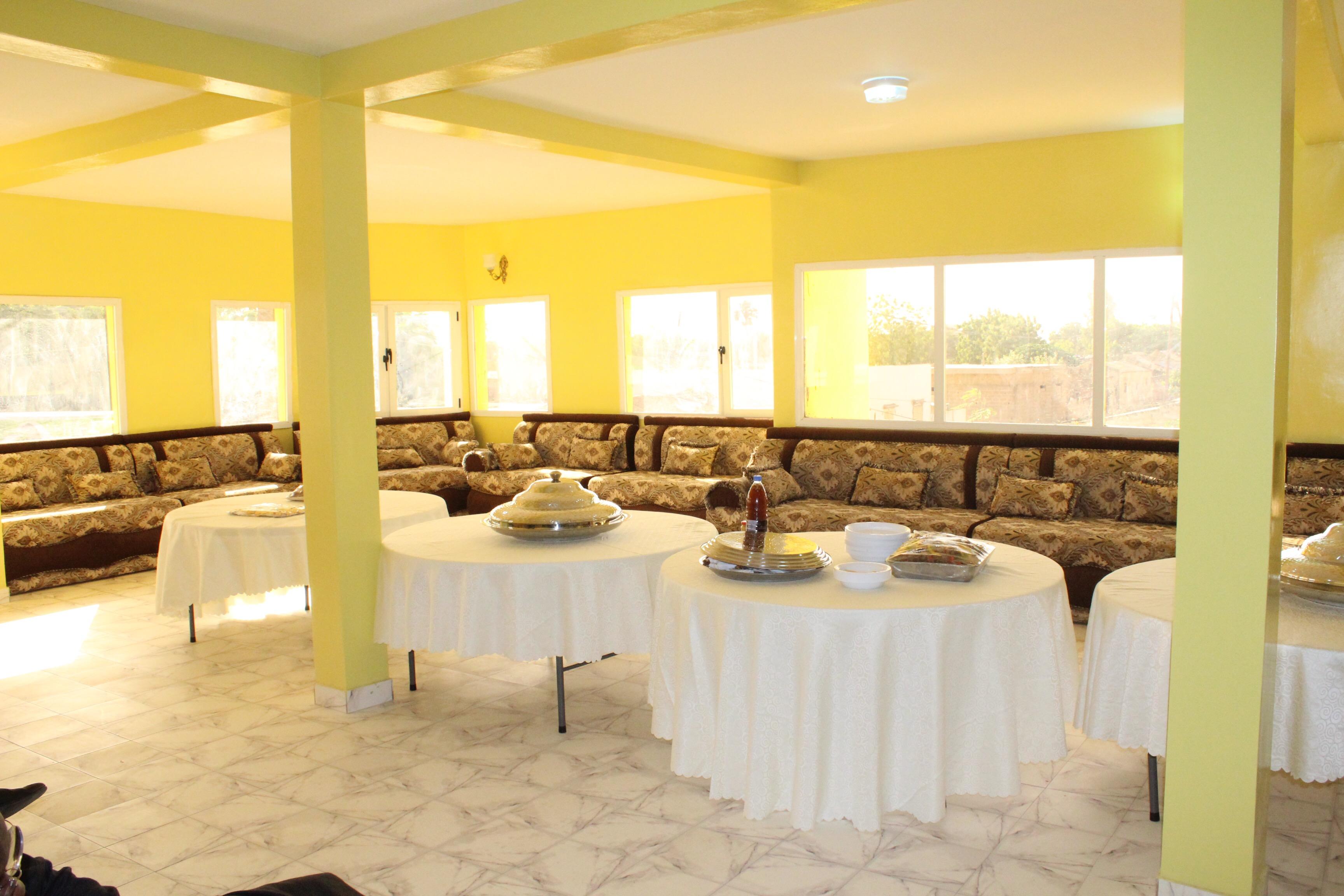 MAGES/  Baye Ciss inaugure l'hôtel des Joueurs du ' Tout Puissanct Diamono ' et leur siège.i