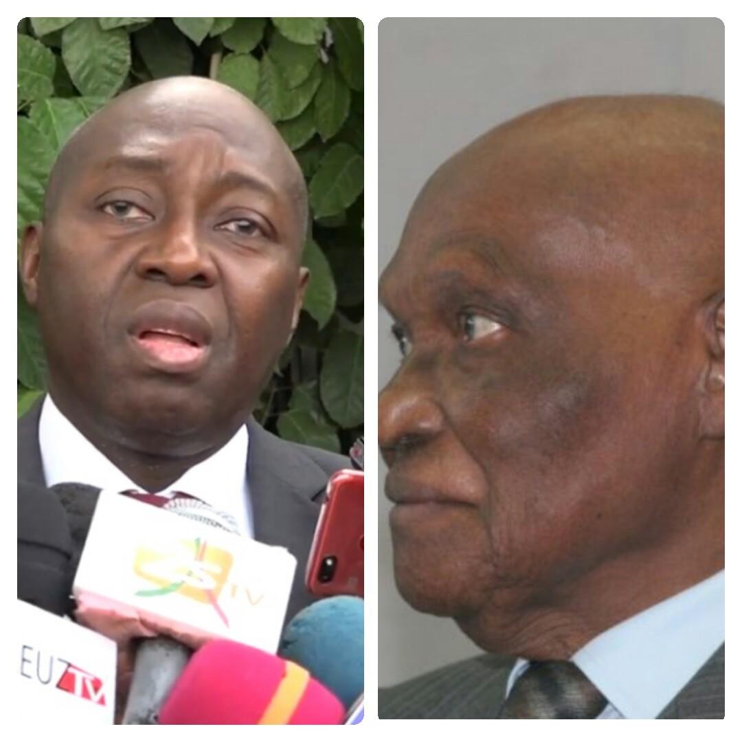 Paris- Versailles : Abdoulaye Wade reçoit Mamadou Lamine Diallo
