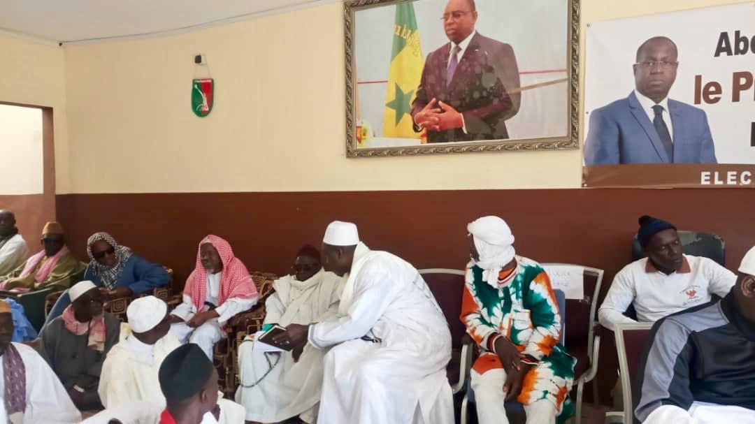 Présidentielle 2019 / Mbao : Abdou Karim Sall lance son slogan « Le 24 février, c'est demain; je vote Macky Sall ! »
