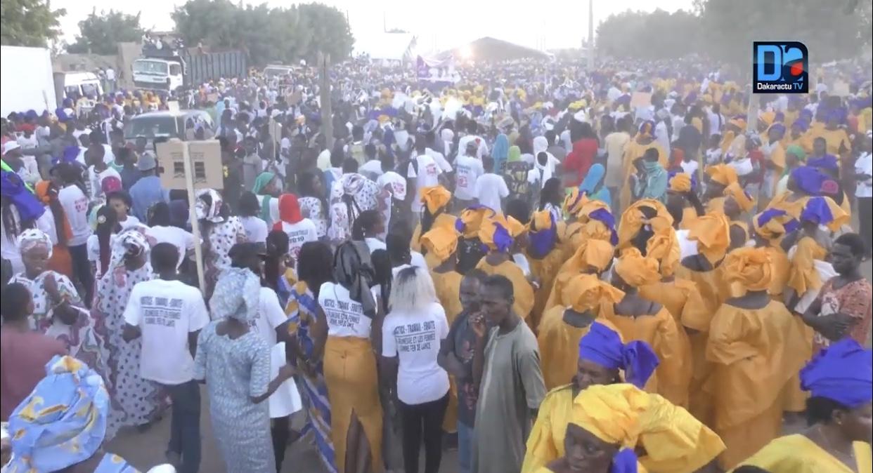 Meeting d'ouverture : Madické Niang défie le président Macky Sall à Mbacké