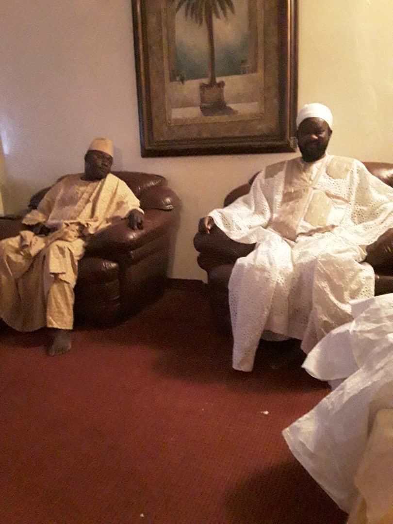 (IMAGES) BAYE CISS démarre sa campagne par trois activités : Une visite chez le Khalife de Médina Baye, un drapeau de lutte à Ndiafatt et  une cérémonie d'inauguration de l'hôtel des Joueurs de Kabatoki