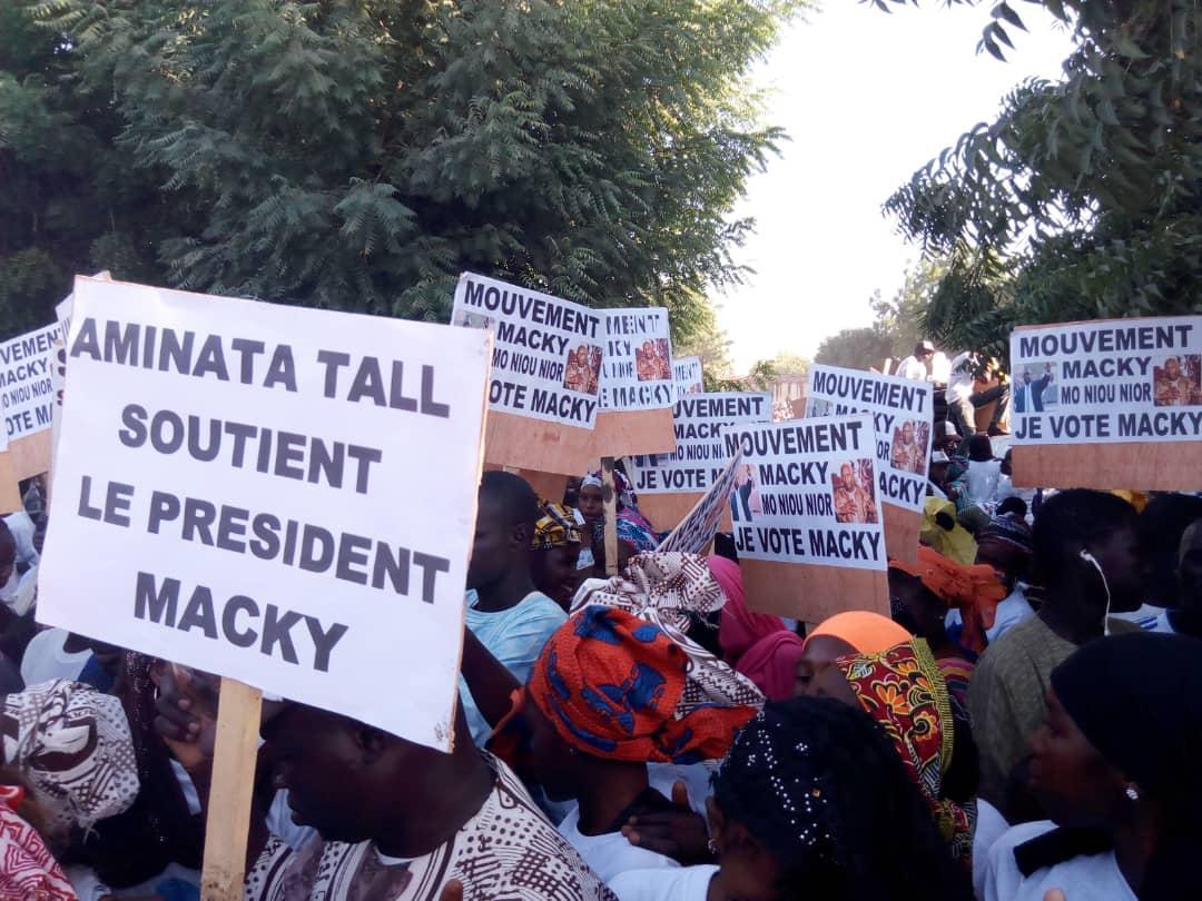 Macky Sall à Touba, Darou Moukhty et Thilmakha : Forte mobilisation du mouvement « Macky Moniou Nior» de Cheikh Mbacké Sakho