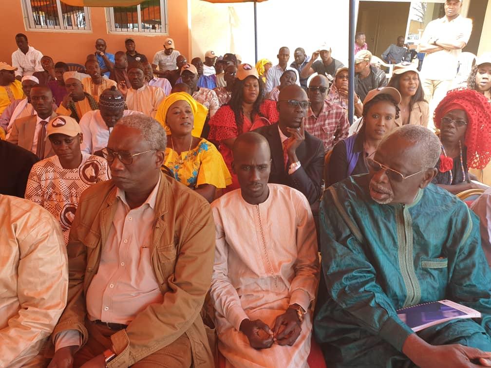 Campagne 2019 : Augustin Tine et le comité électoral départemental sillonnent les 15 collectivités de Thiès