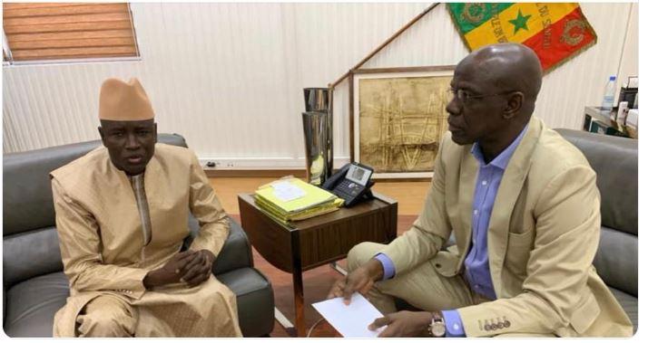 Sécurisation des élections : Le ministre Aly Ngouille Ndiaye a reçu Me Mame Adama Guèye