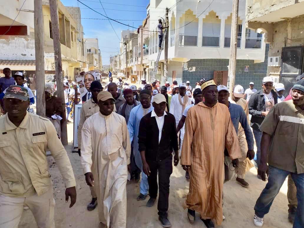 Campagne électorale à Keur Mbaye Fall : Abdou Karim Sall marche pour la réélection du Président Macky Sall