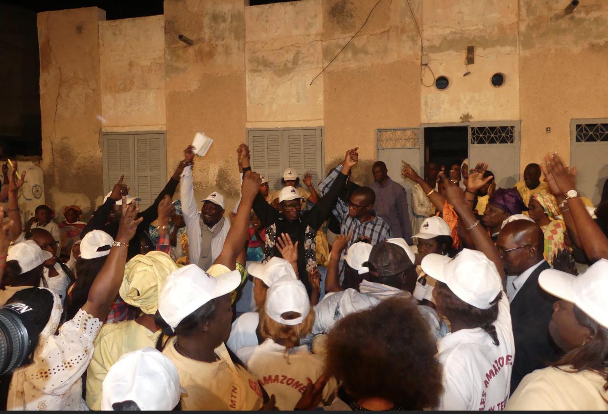Présidentielle / Visite de proximité à Pikine 1 : les populations de cette partie du Faubourg de Sor promettent la victoire au Pr Mary Teuw Niane