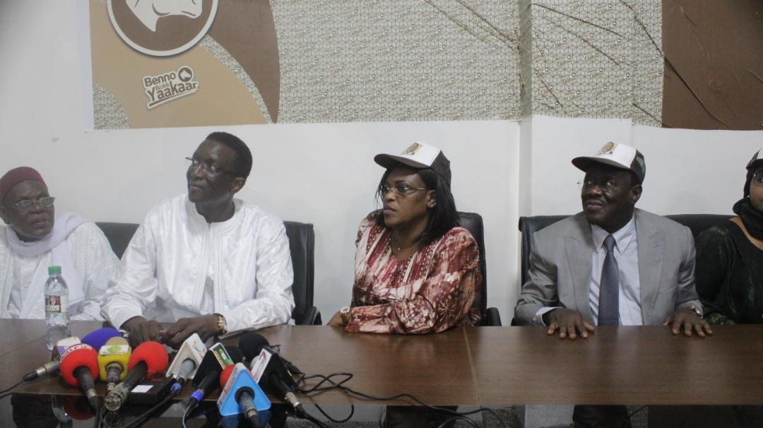 Présidentielle 2019 : Marième Sall descend aux Parcelles avec Amadou Ba