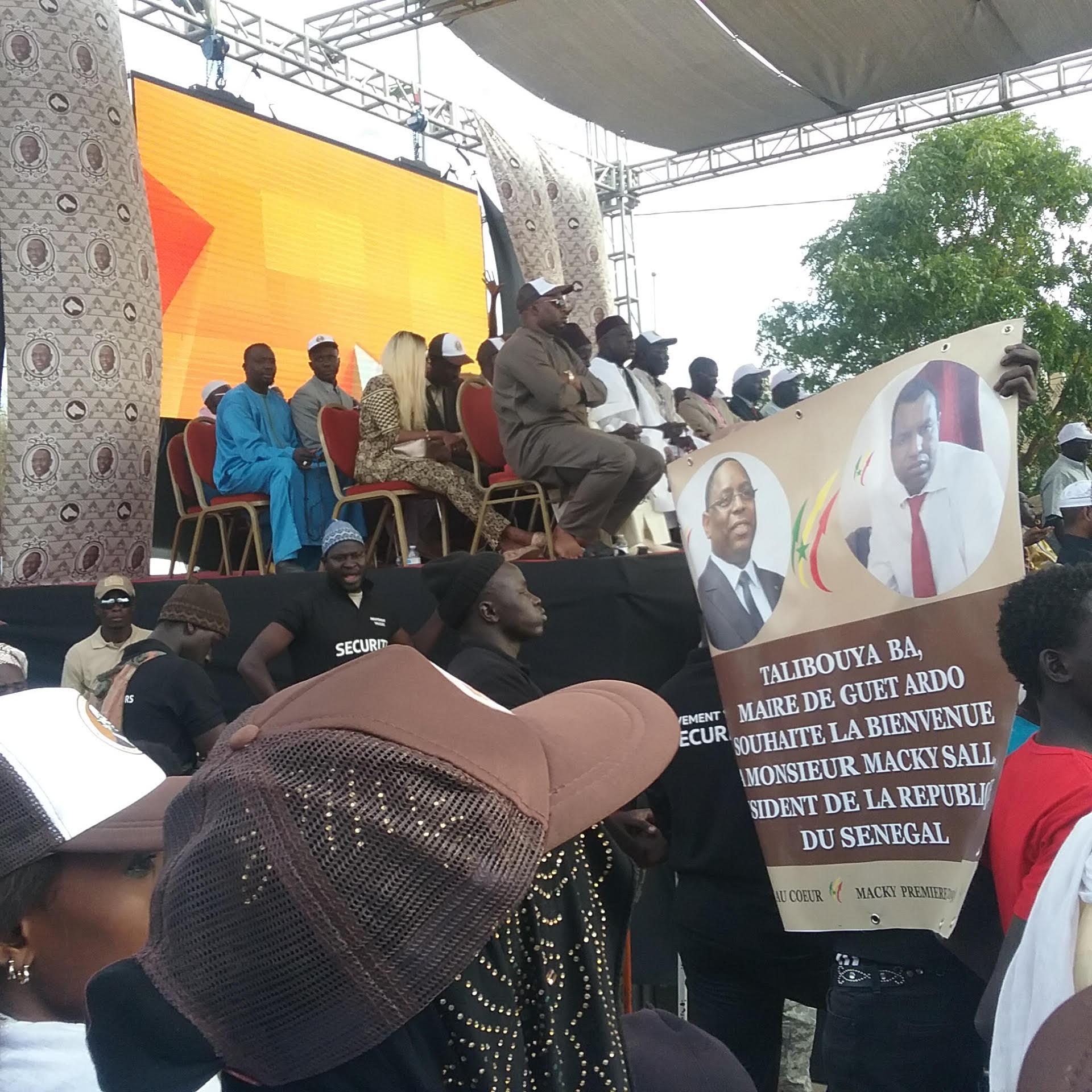Présidentielle 2019 : Guèt Ardo et son maire Talibouya Ba accueillent le candidat Macky Sall en grande pompe
