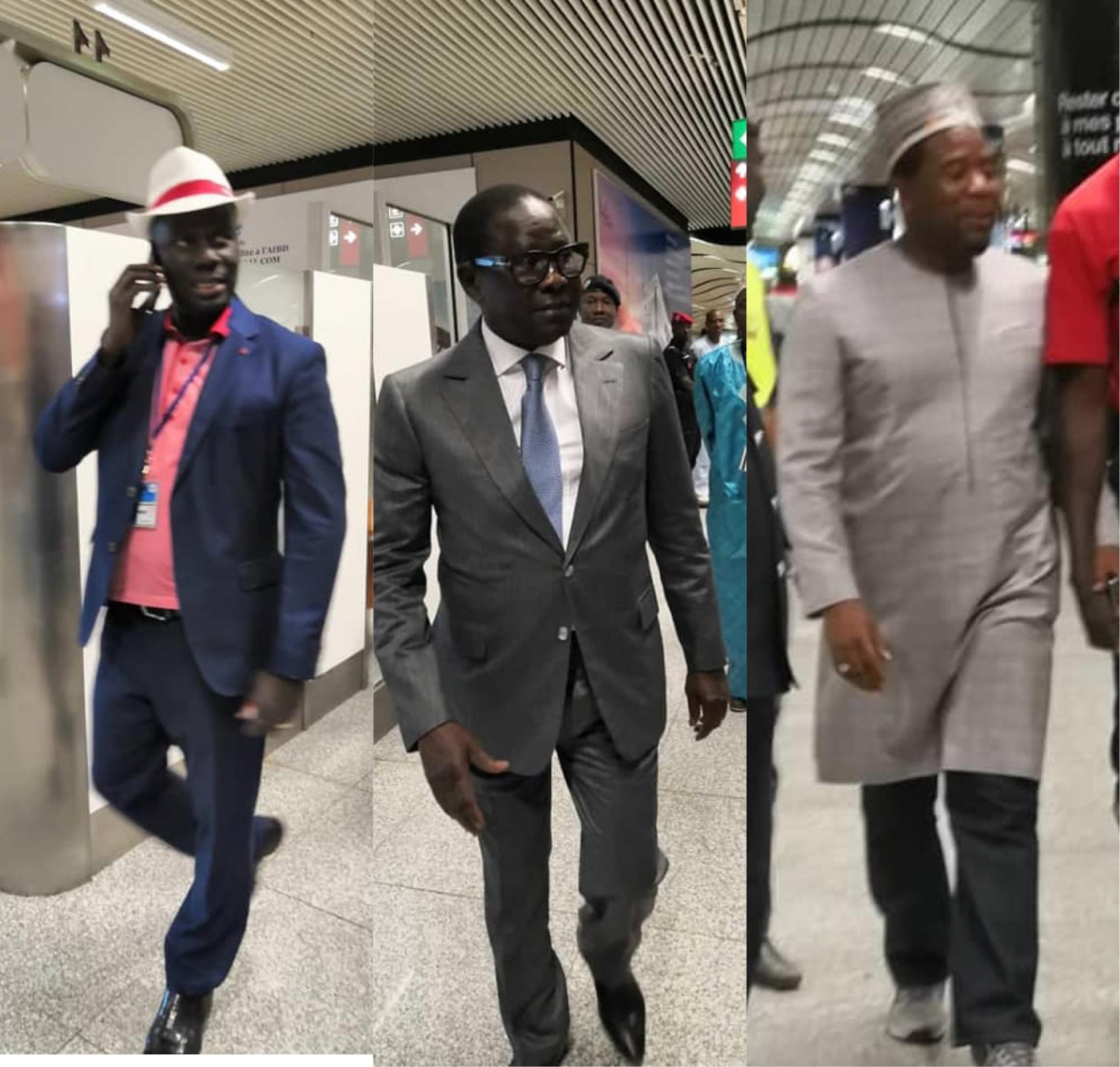 Pape Diop, Bougane Guèye Dany,  Decroix, Malick Gakou…à Diass : Wade accueilli par les souteneurs de Idy