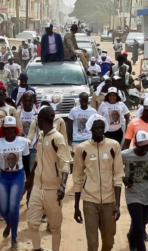 Campagne électorale BBY : Abdou Karim Sall à Pikine pour la réélection du Président Macky Sall.