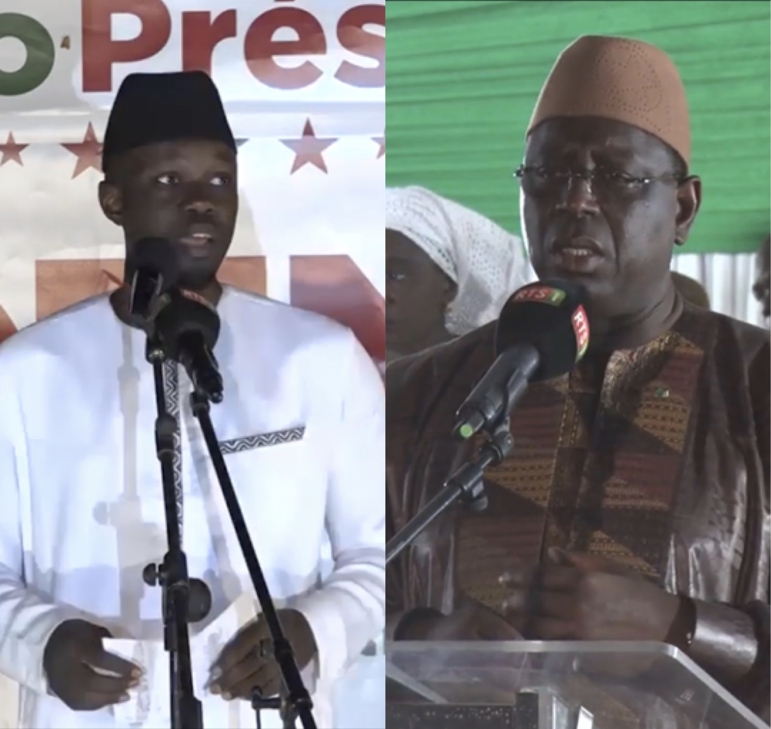 Campagne électorale Jour 5 : Ousmane Sonko gagne le discours panafricaniste et Macky Sall gagne le discours d'influence.