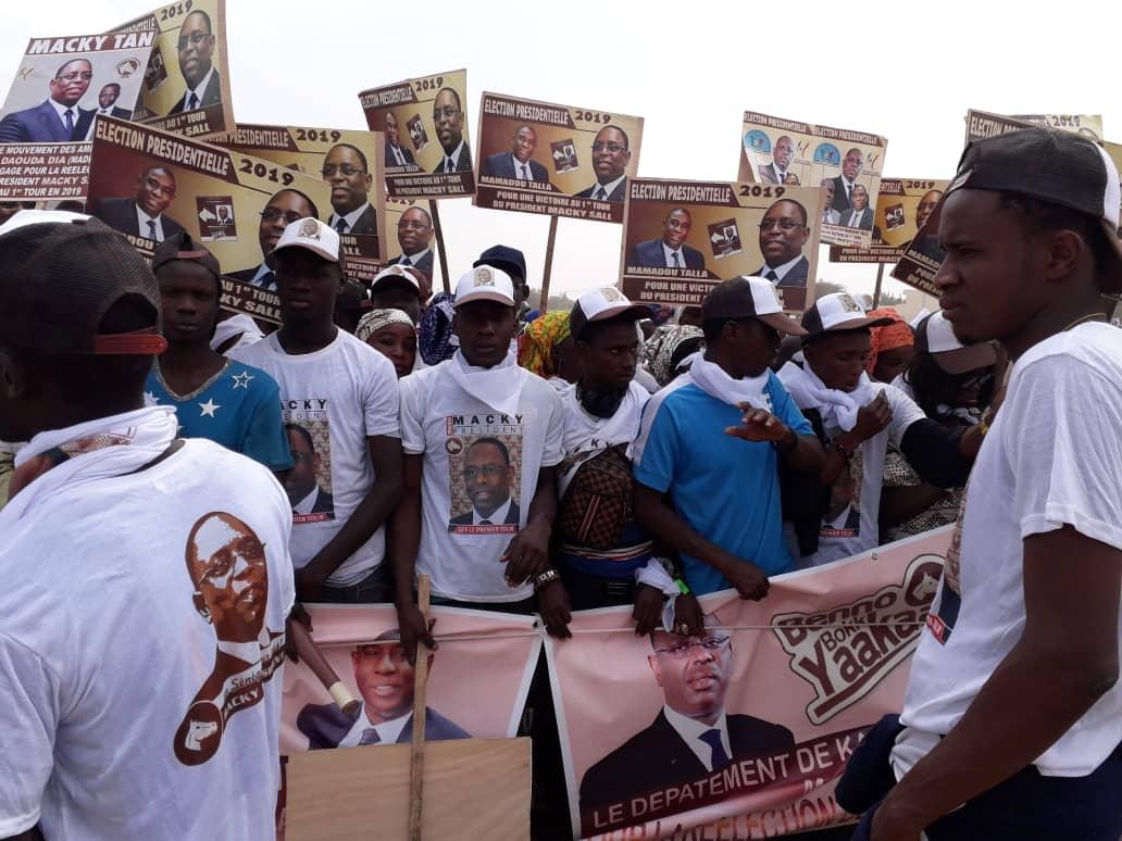 Présidentielle 2019 : Kanel garantit une victoire à 95% au président Macky Sall dans le département.