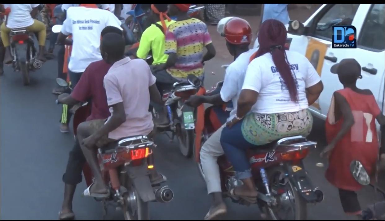"""Campagne présidentielle 2019 / Choc sur l'axe Koumpentoum-Koussanar : Un conducteur de """"Moto jakarta"""" meurt après un choc avec le cortège de la coalition IDY2019"""
