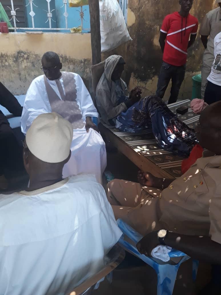 Incidents de Tamba : L'État appuie les blessés à hauteur de 500.000 F chacun.