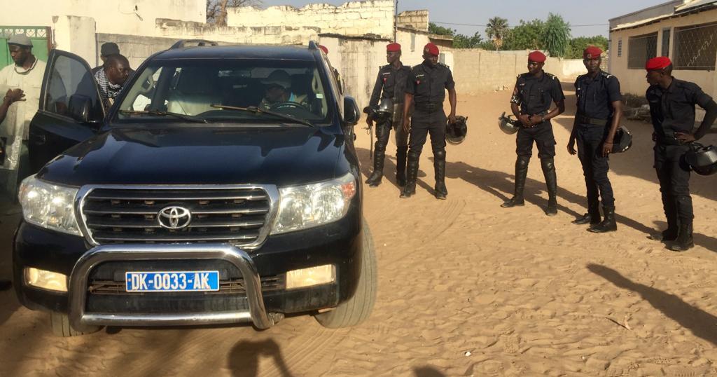 Sécurité : Le convoi de Madické Niang sous bonne escorte des éléments du GMI