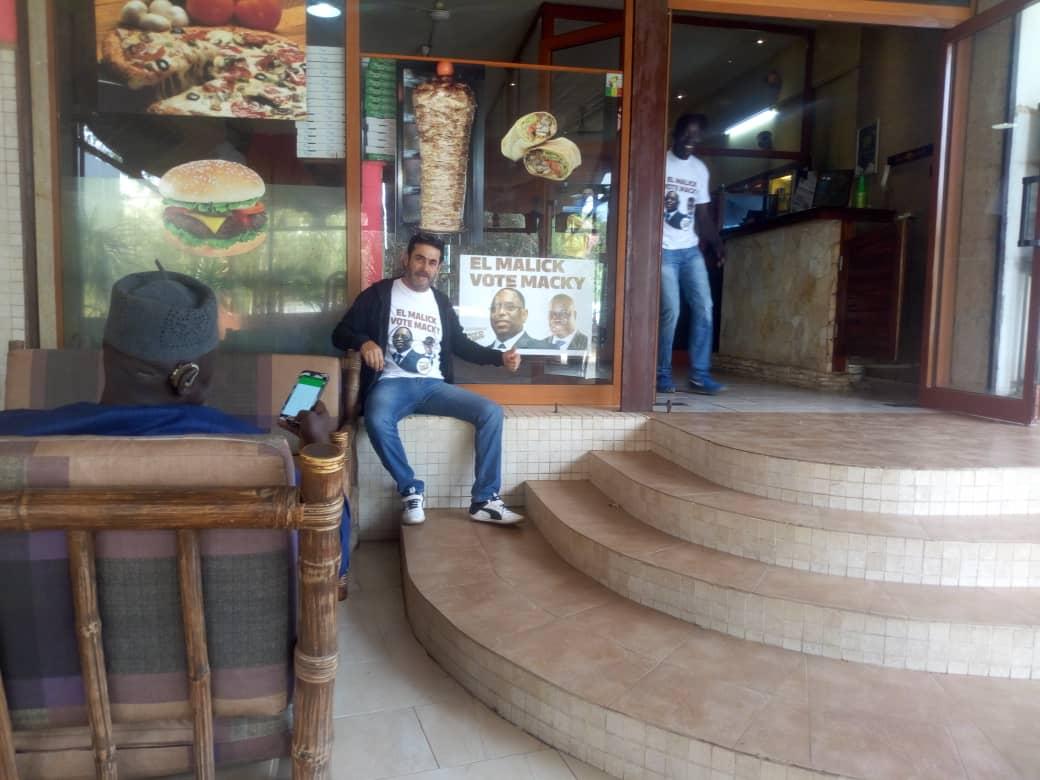 Ce restaurateur qui gère le réputé Sultan de Saly soutient a fond Macky Sall a travers son client El Malick Seck