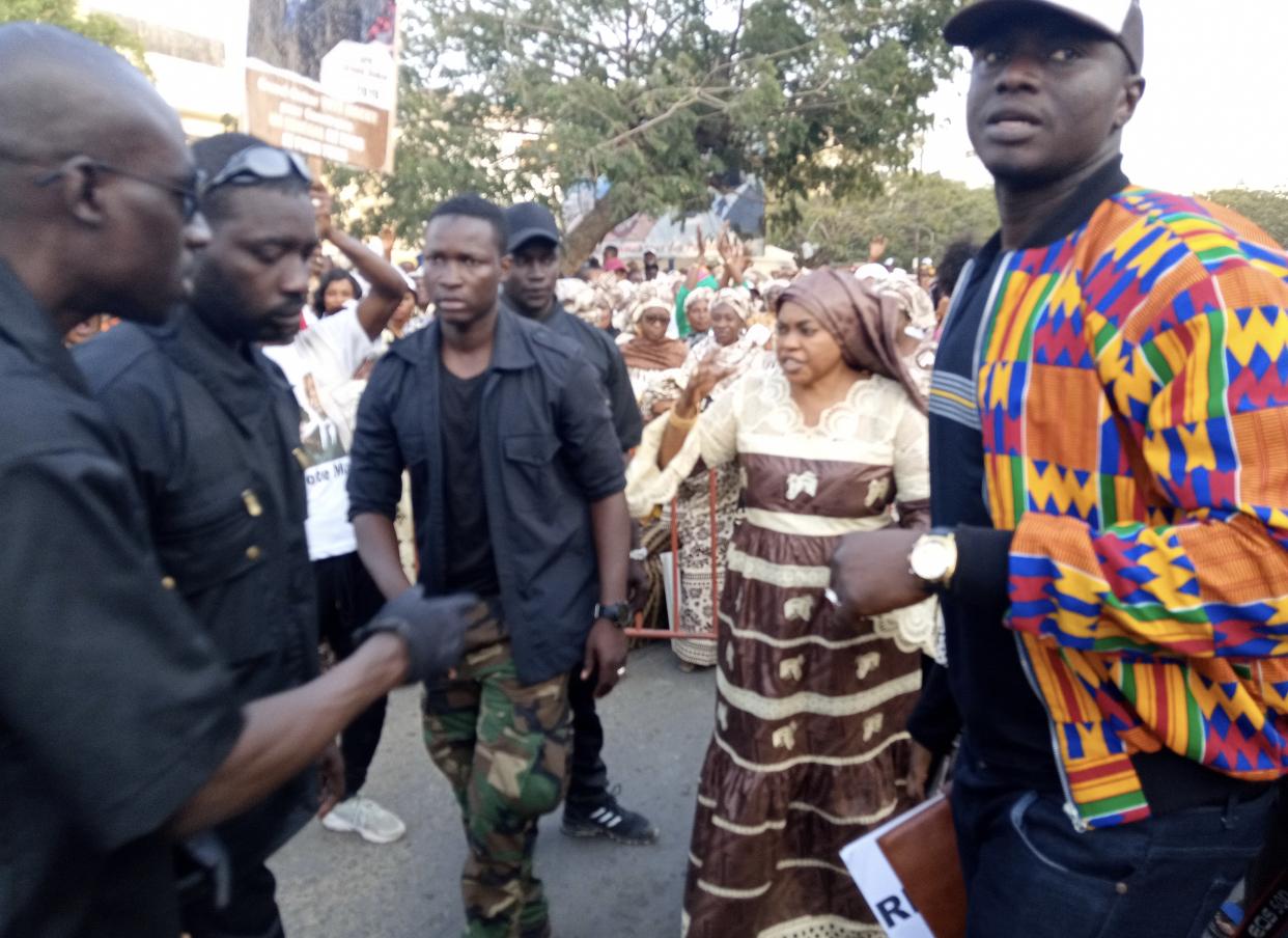 Présidentielle 2019 / Méga meeting :  Les femmes de Grand-Dakar font bloc derrière Ndèye Saly Diop Dieng