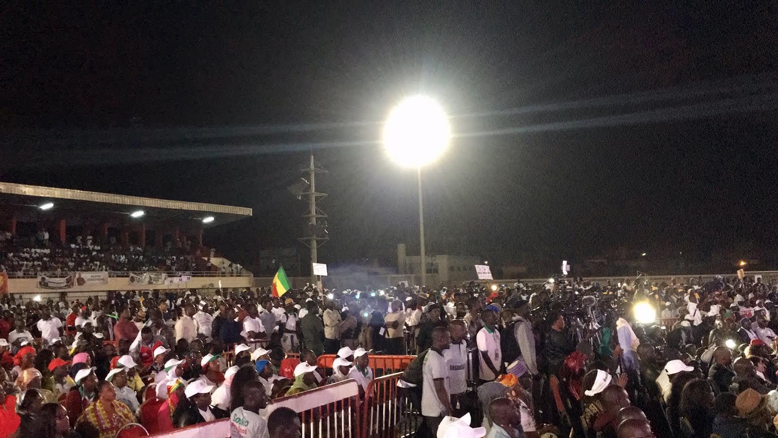 Mobilisation assurée pour Ousmane Sonko à Pikine ! (IMAGES)