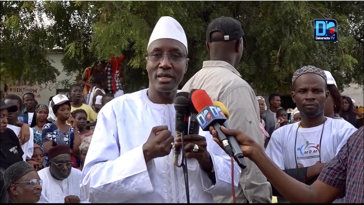 « L'opposition est à terre et nous allons gagner les élections avec la manière » (Mamadou Mamour Diallo, Président du mouvement Dolly)