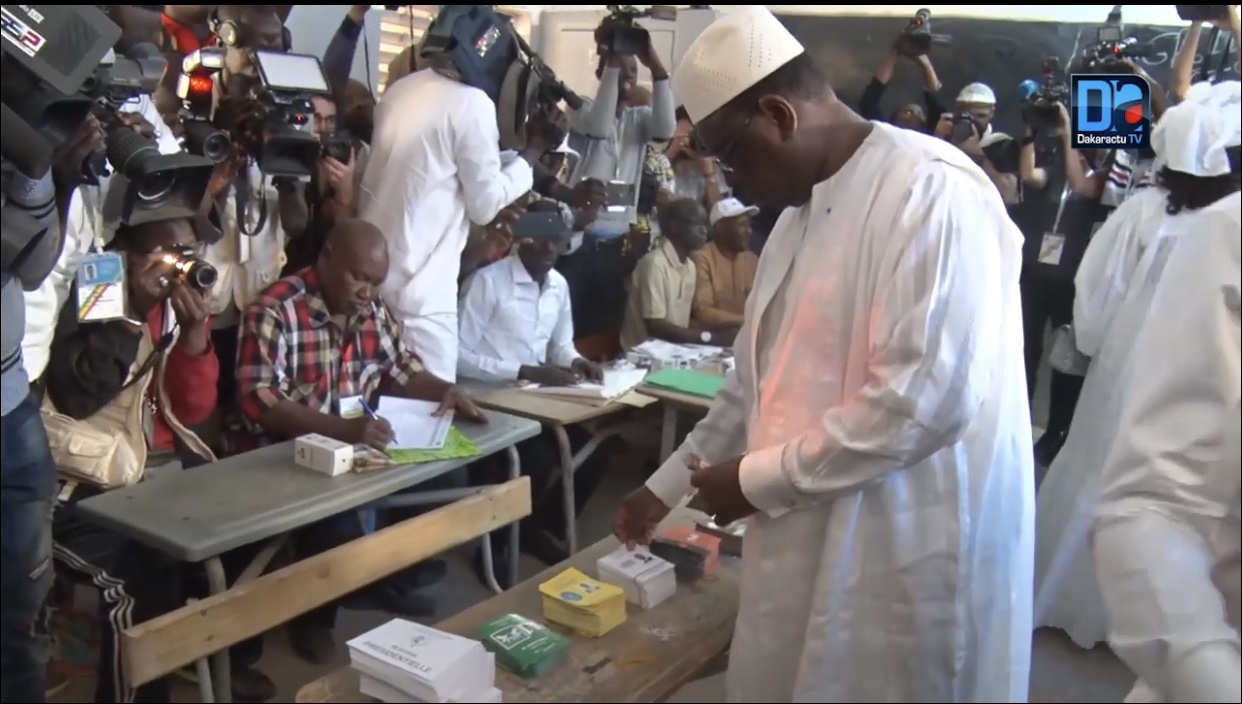 """Macky Sall : """"J'espère que le Président qui sera choisi au terme de cette journée sera moi"""""""