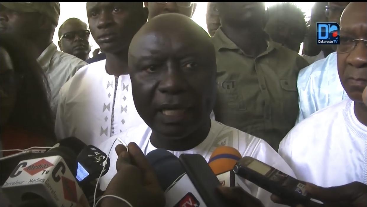 Présidentielle 2019 : Déclaration d'Idrissa Seck après son vote
