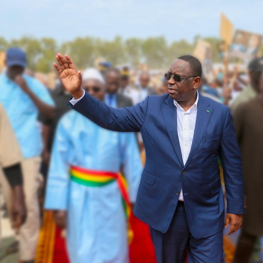 FRANCE : Macky Sall largement vainqueur à Mantes-la-Jolie