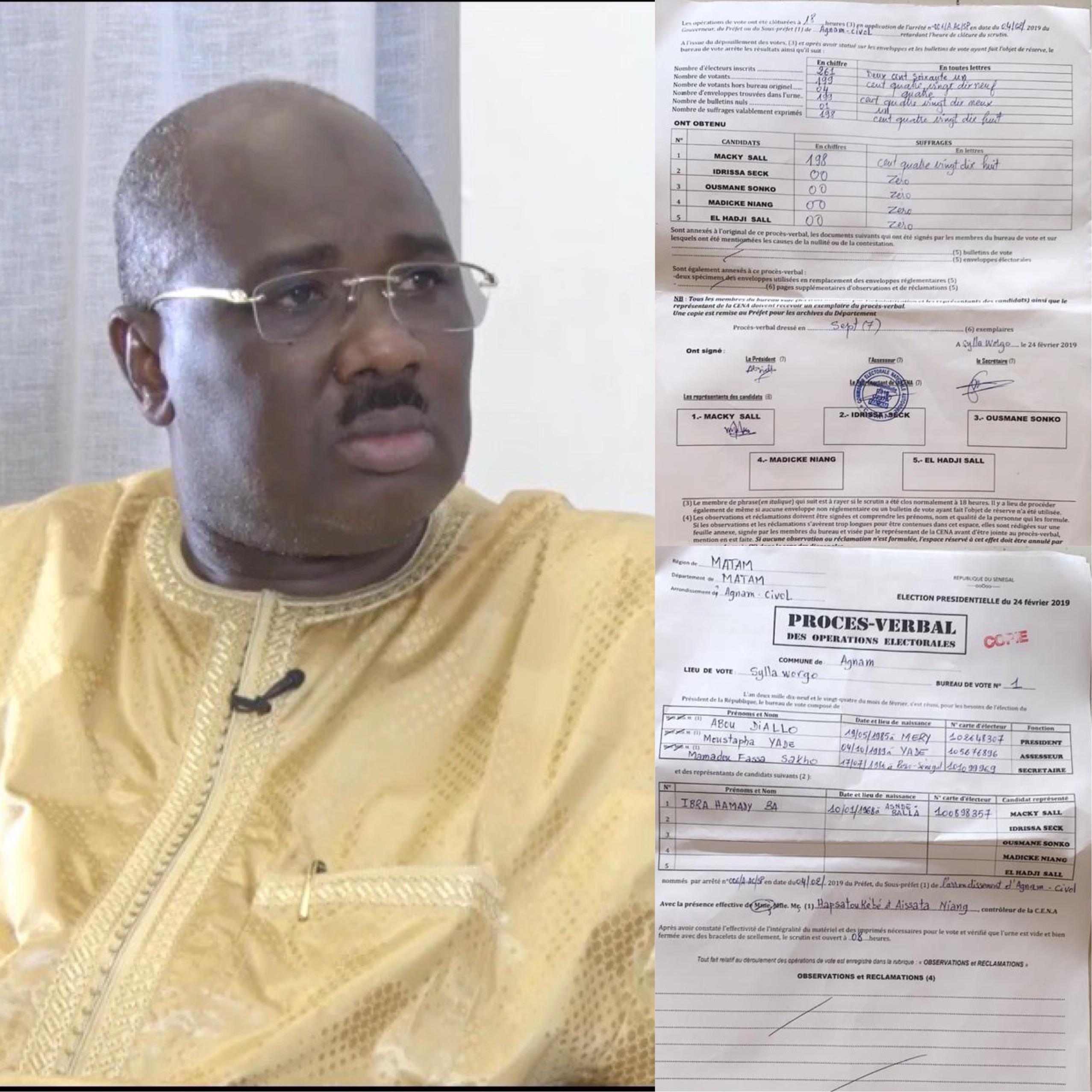 """LE DÉFI DE FARBA NGOM : """"Que quelqu'un d'autre brandisse son 100% ! Agnam est un titre foncier du Président Sall'"""