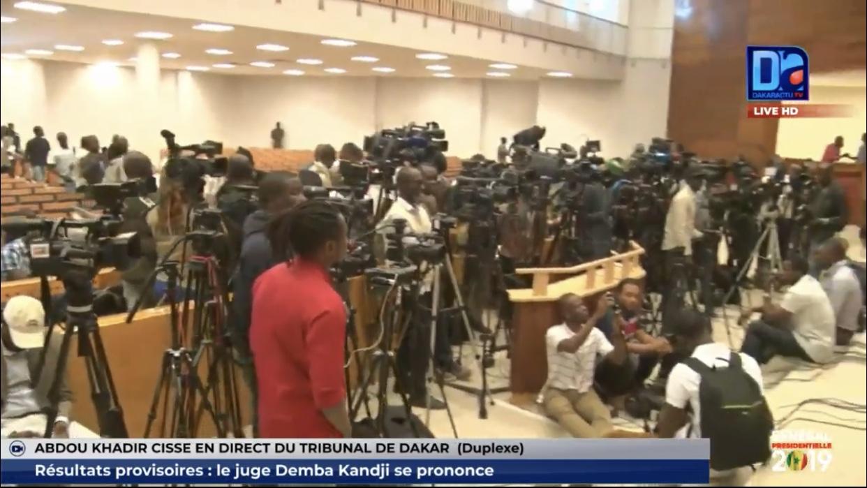 Proclamation des résultats provisoires de la présidentielle: Finalement, c'est à 12H30