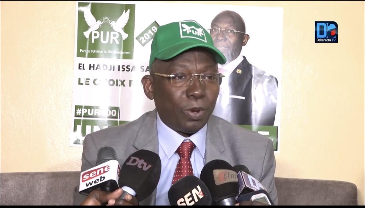 Candidat malheureux de la présidentielle 2019 : Le message de Issa Sall à l'endroit des sénégalais