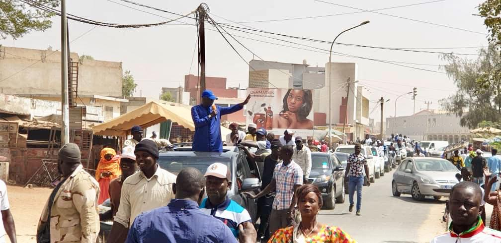 Mbao / Réélection du Président Macky Sall : Grande caravane de remerciements de M. Abdou Karim Sall et BBY (Images)