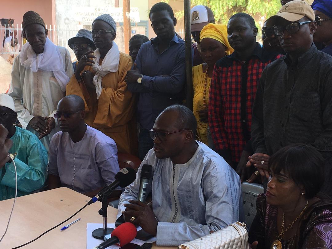 """(IMAGES) SAËR DIOP : """"La coalition BBY derrière Aminata Tall se félicite des 56,54% et souhaite un programme spécial pour Diourbel"""""""