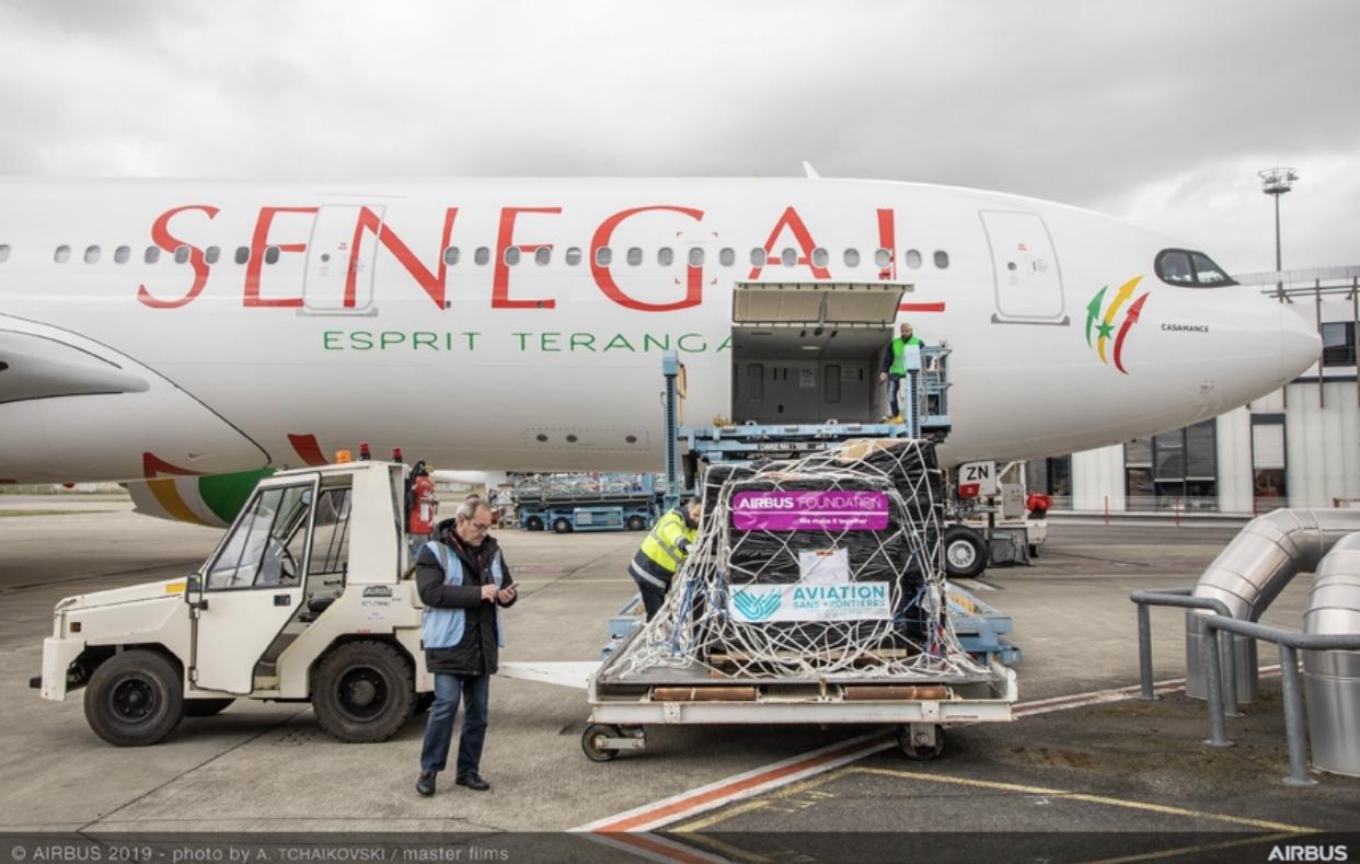 Air Sénégal réceptionne le premier A330neo d'Afrique