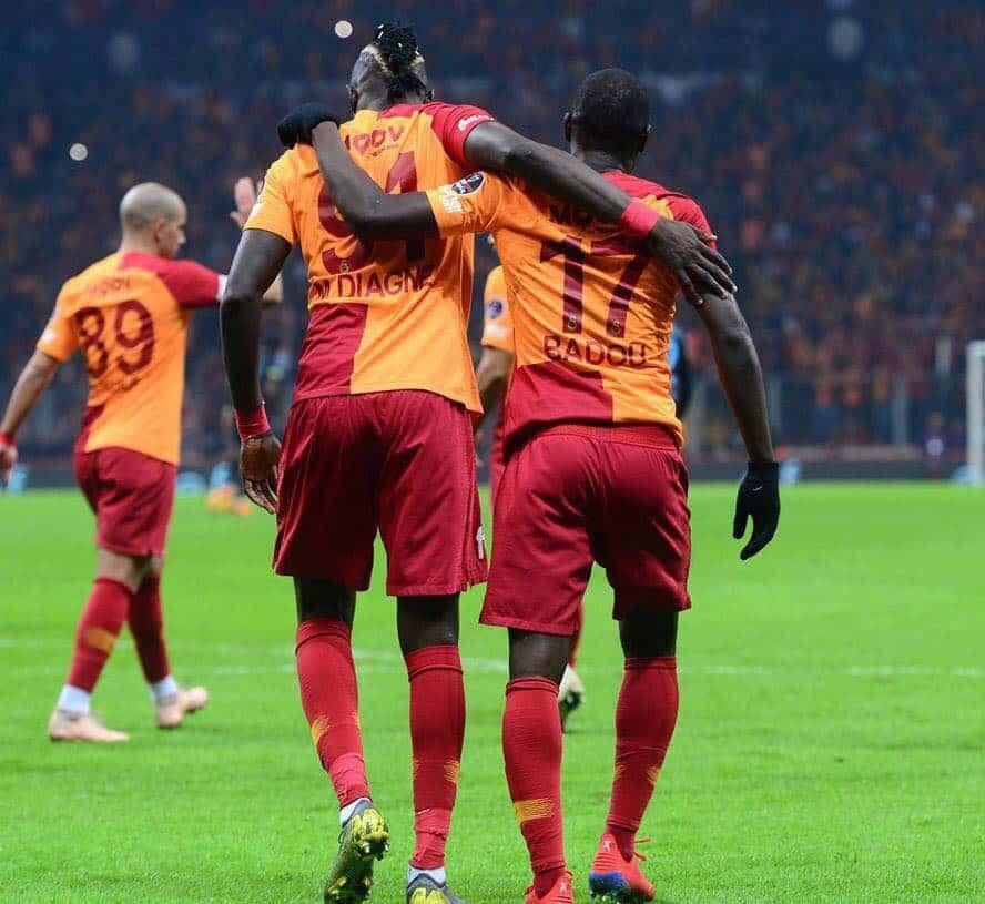 Super Ligue : Mbaye Diagne ouvre son compteur buts avec Galatassaray, Pape Alioune Ndiaye inscrit son deuxième but.
