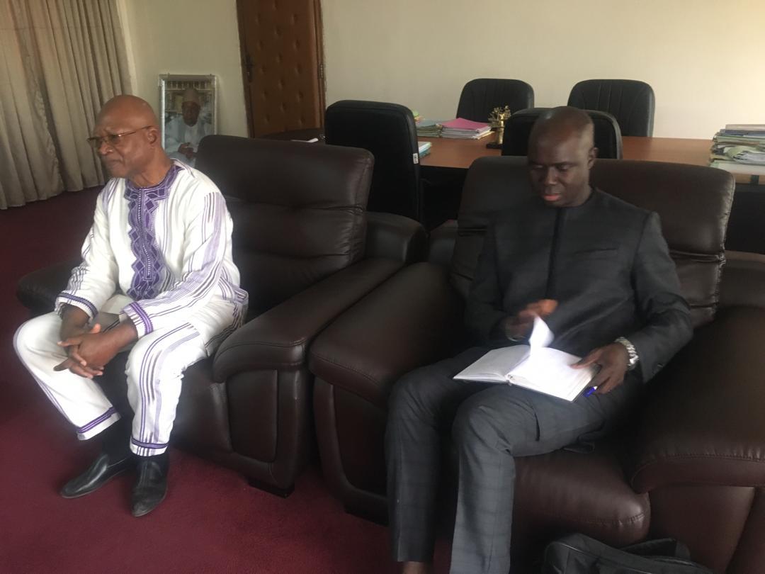 Audience : Mbagnick Ndiaye reçoit l'Ambassadeur du Burkina Faso