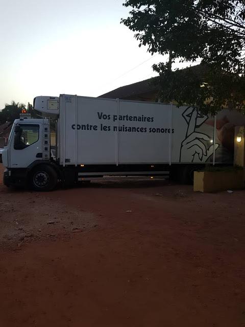 Cocaïne saisie à Bissau : Voici le camion immatriculé à Thiès dans lequel étaient cachés les 800 kg de drogue.