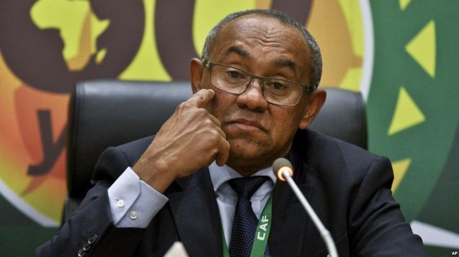 Les États-Unis refusent le visa au président de la CAF Ahmad Ahmad !