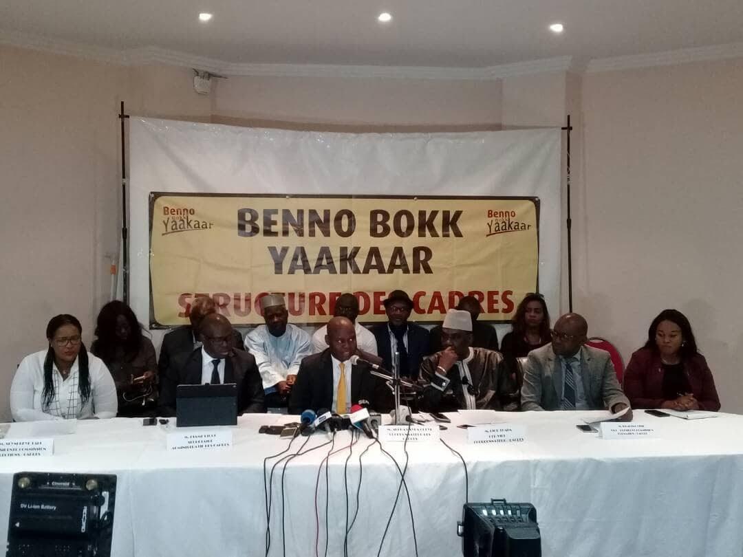 La Coordination des cadres de BBY condamne la sortie de Idrissa Seck, tourne la page de l'élect et appelle au travail...