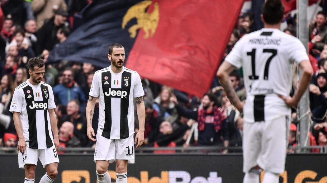 28e journée Série A : La Juve chute pour la première fois de la saison face au Genoa (2-0)