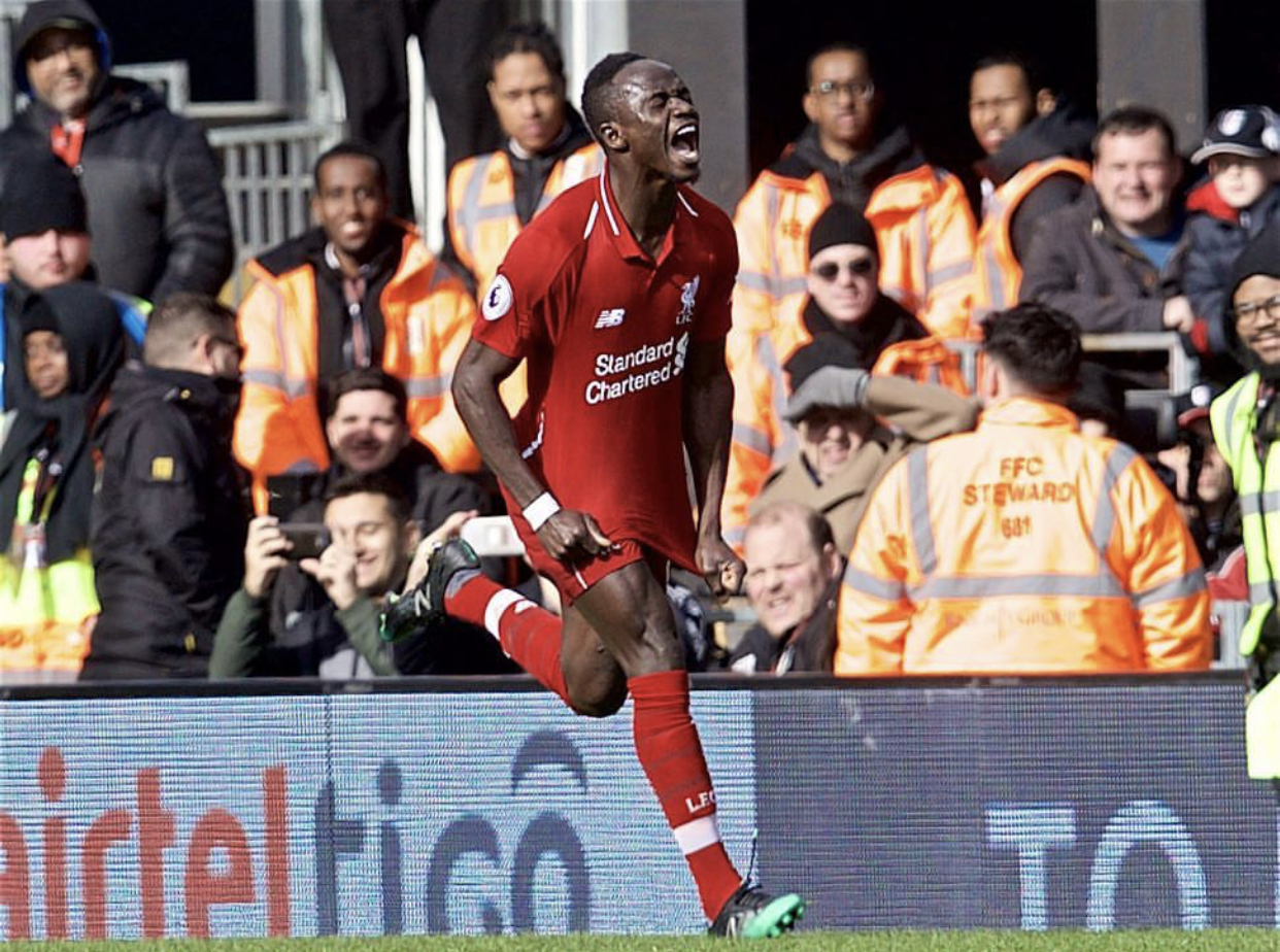 Premier League : Liverpool s'impose au forceps (2-1) face à Fulham, Sadio Mané buteur