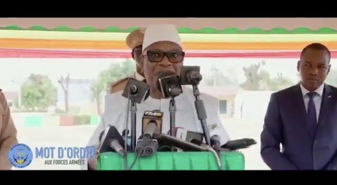 La colère de IBK face à l'armée à Dioura : «Nous sommes en guerre et aucune négligence ne sera plus tolérée»